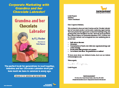 Grandma and her Chocolate Labrador Marketing Opportunities